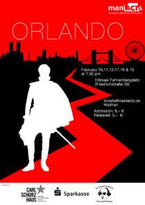 Plakat ManiActs «Orlando»