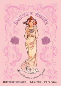 Plakat Lion Spirits «Absainthe rosée»