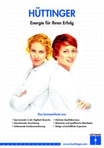 Plakat Hüttinger «Image»