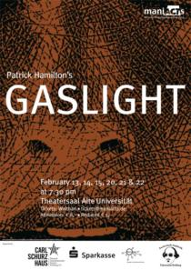 Plakat ManiActs «Gaslight»
