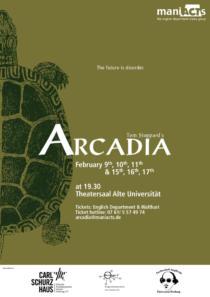 Plakat ManiActs «Arcadia»